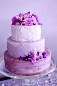 radiant-orchid-wedding-cake-idea